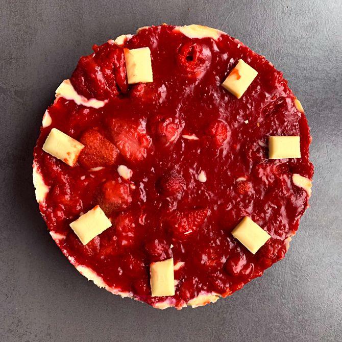 Náhľad receptu Jahodovo - vanilkový cheesecake