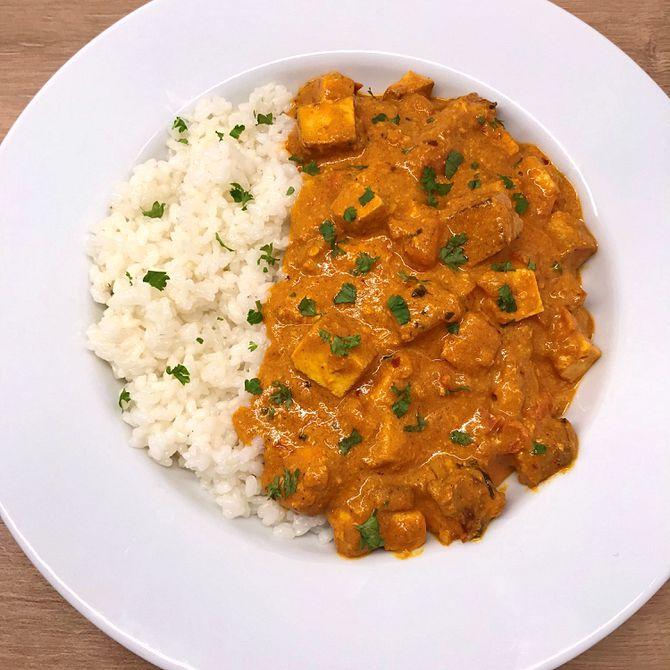 Náhľad receptu Tofu tikka masala