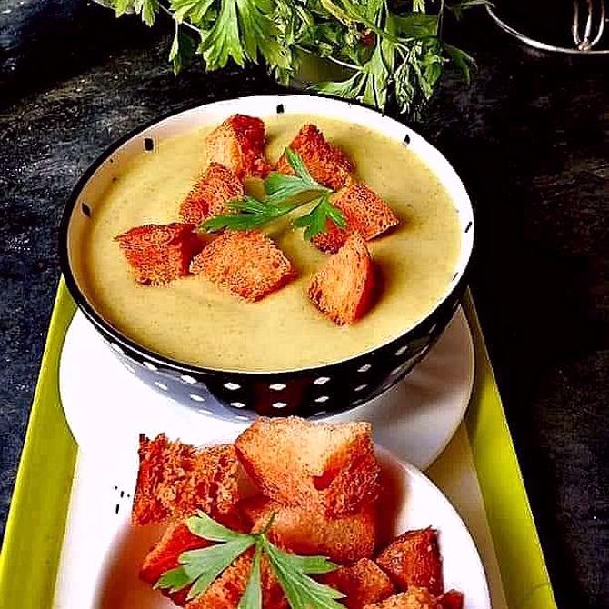 Náhľad receptu Cesnaková polievka