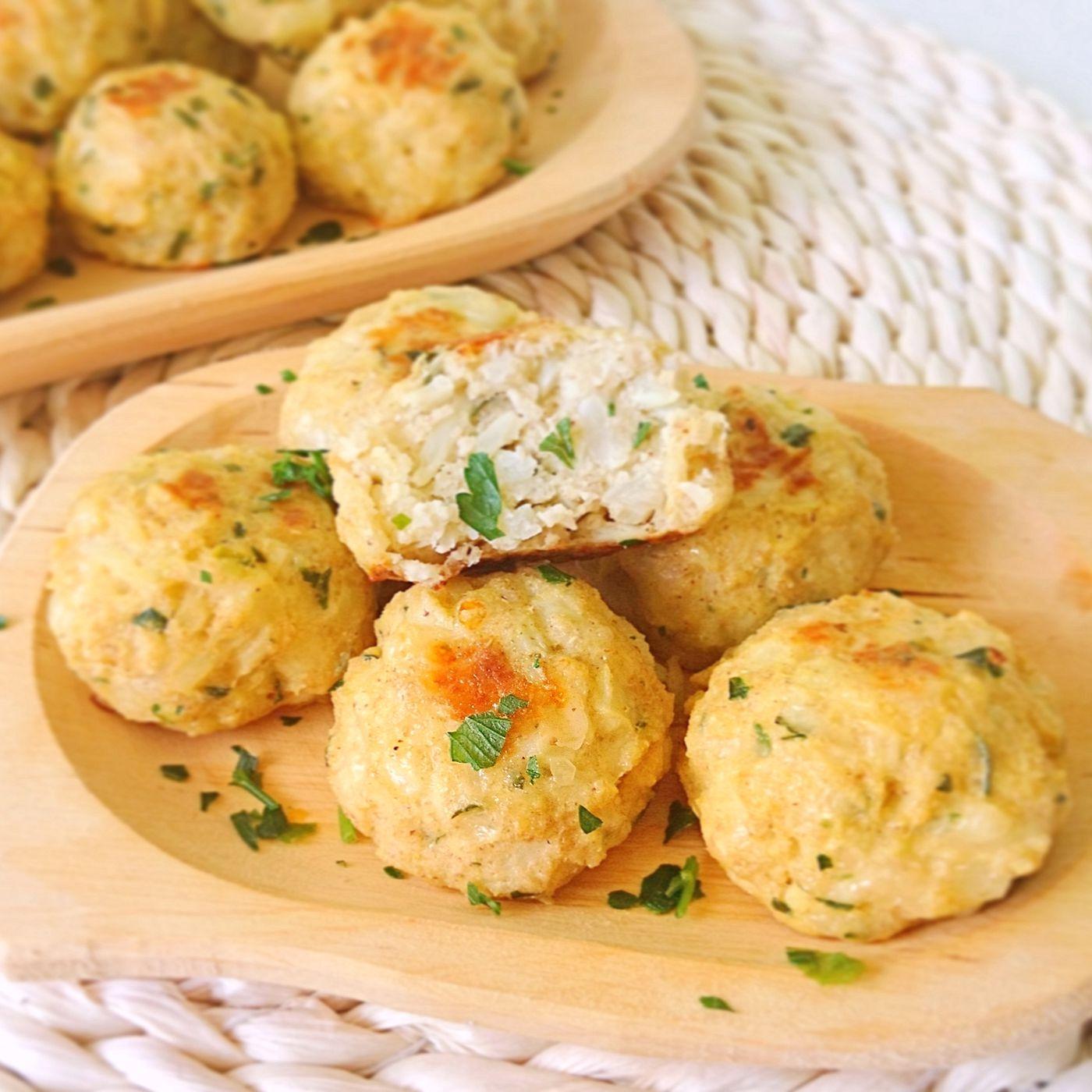Karfiolové fašírky so syrom
