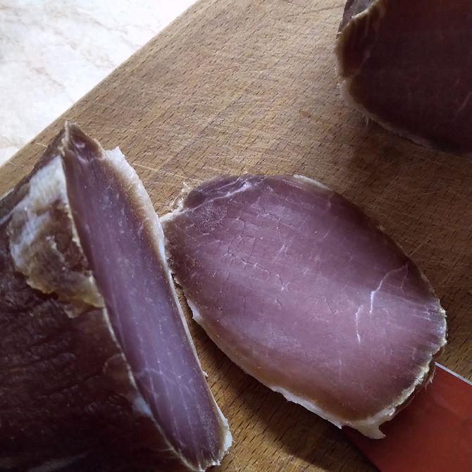 Náhľad receptu Domáca sušená šunka