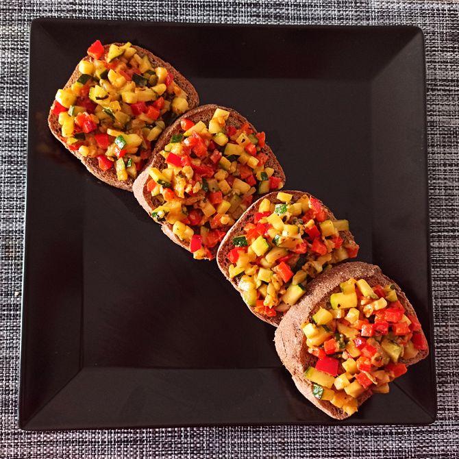 Náhľad receptu Cuketovo-papriková zmes