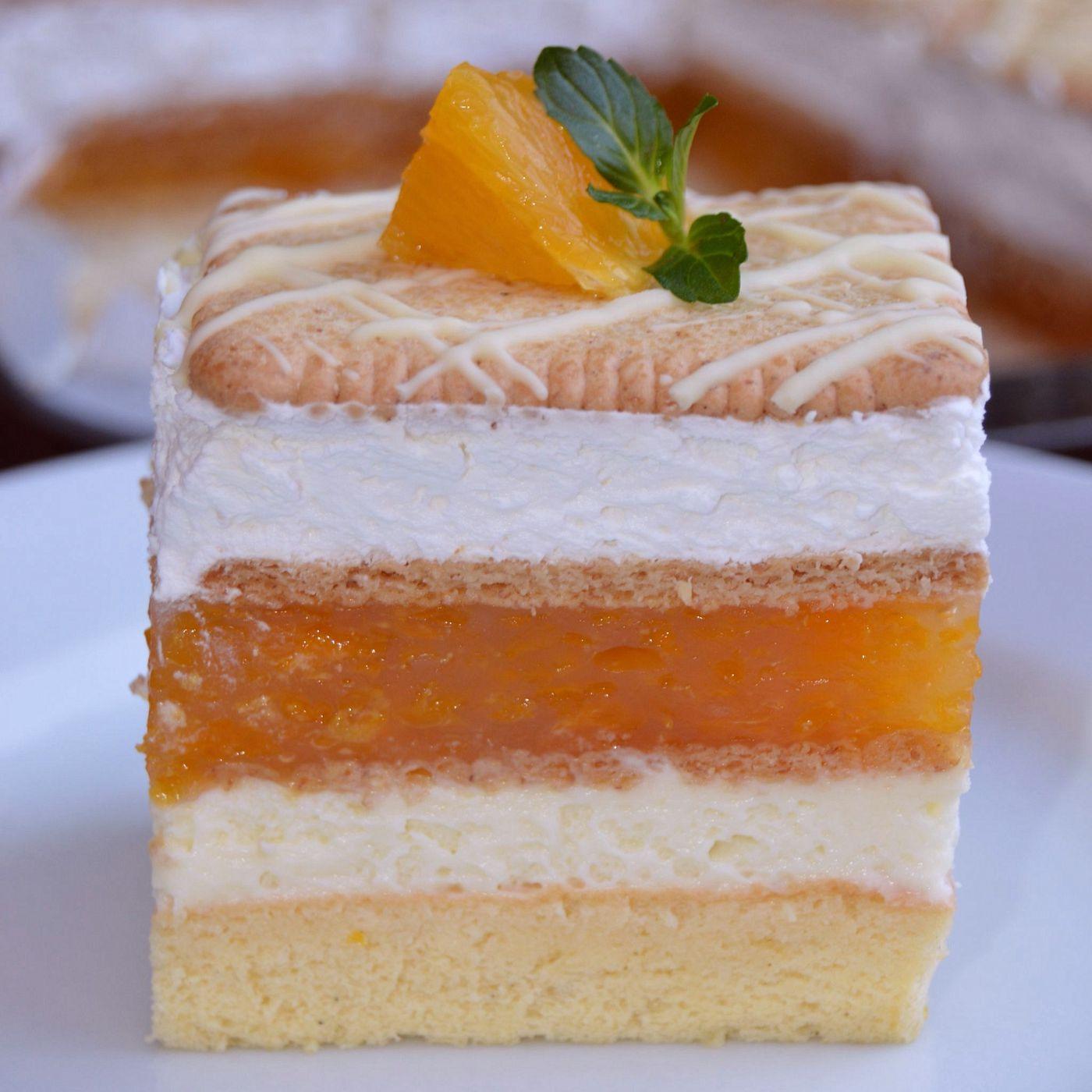 Jarný mandarínkový koláč