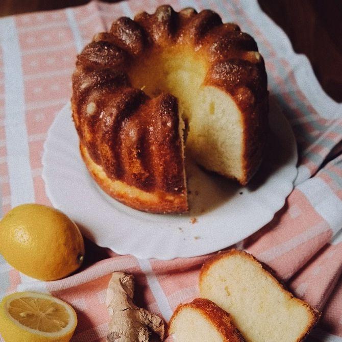 Náhľad receptu Bábovka s citrónovou polevou