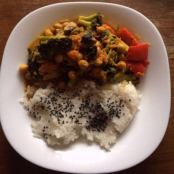Náhľad receptu Zeleninové curry