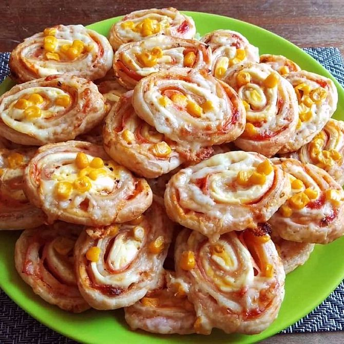 Náhľad receptu Pizza slimáky