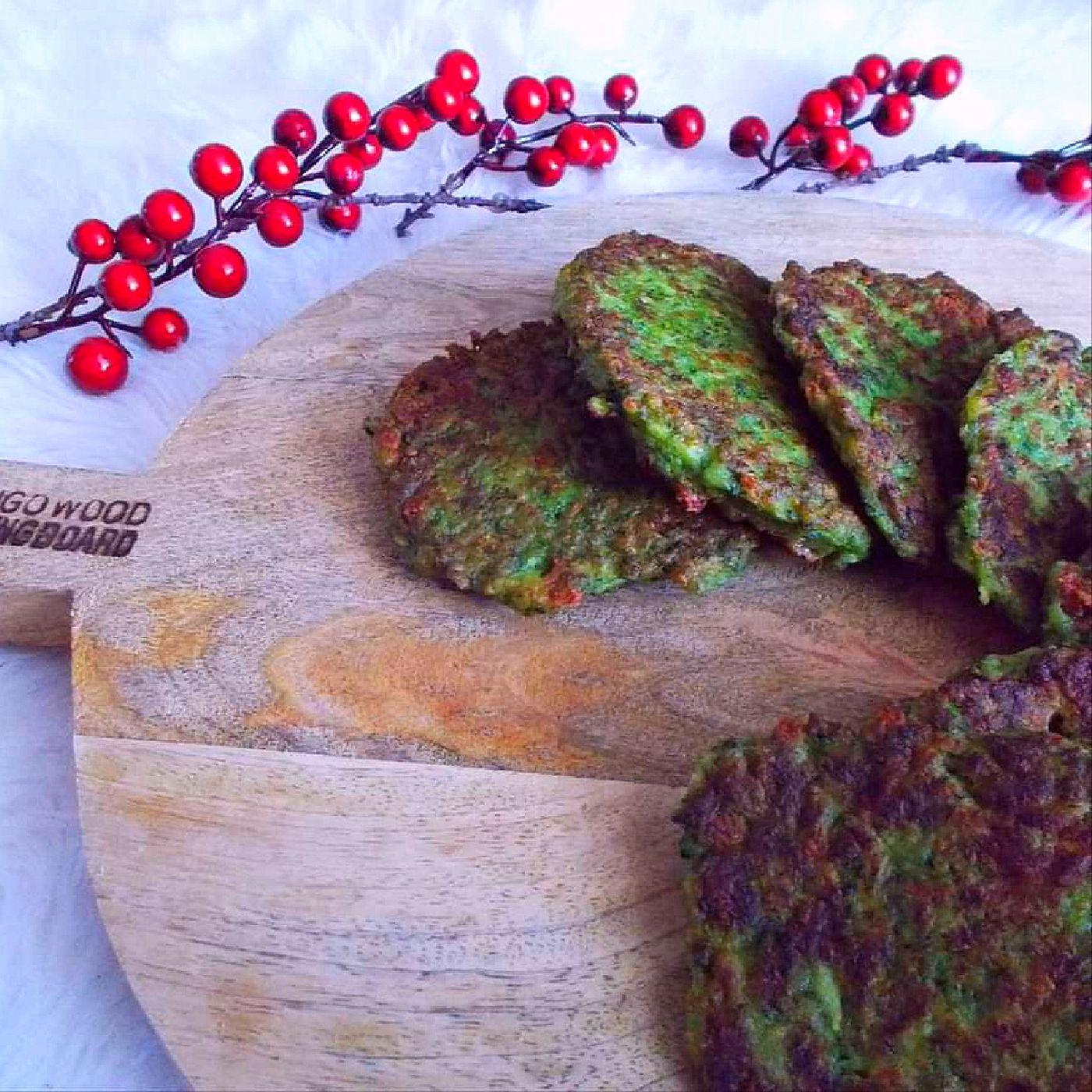 Fit brokolicové placky