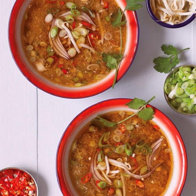 Náhľad receptu Ázijská polievka s vajíčkami