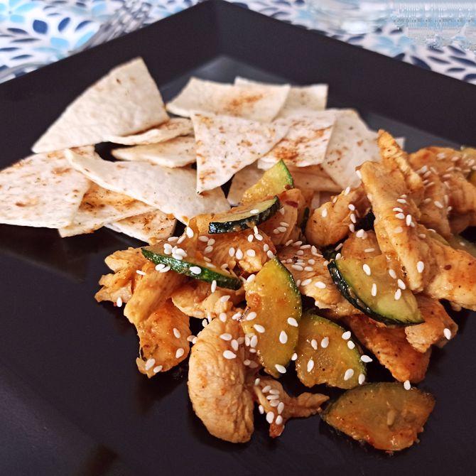 Náhľad receptu Kuracie kúsky s tortillovými chipsami