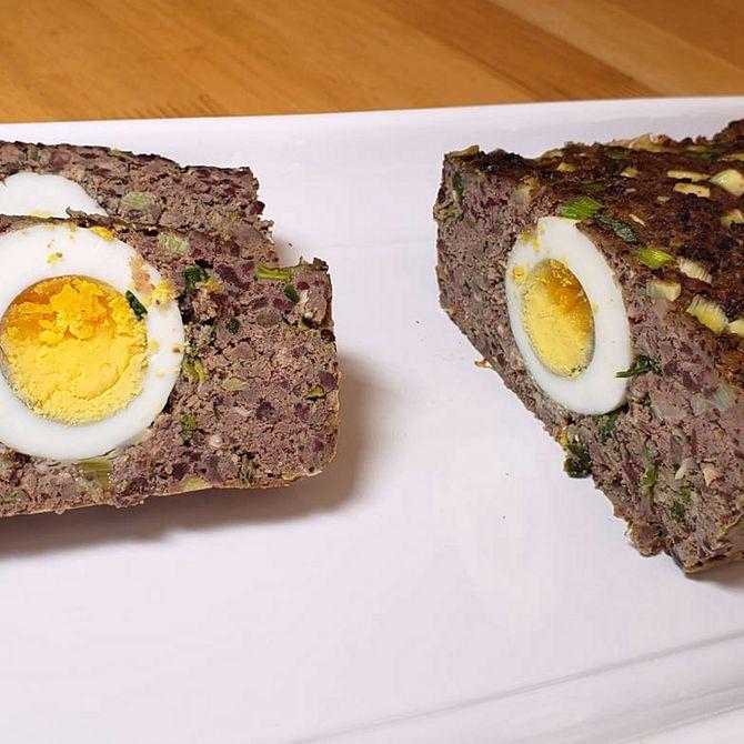 Náhľad receptu Plnená fašírka s vajíčkom