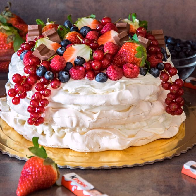 Náhľad receptu Pavlova torta