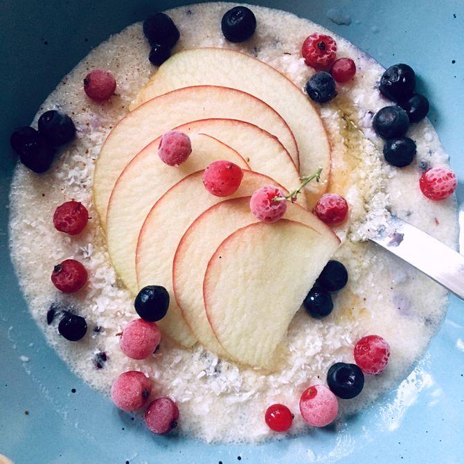 Náhľad receptu Raňajková krupicová kaša