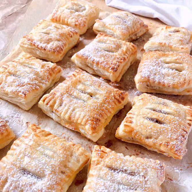 Náhľad receptu Jablkové taštičky z lístkového cesta