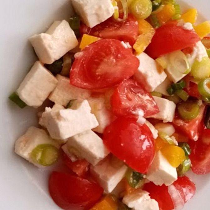 Náhľad receptu Šalát z balkánskeho syra