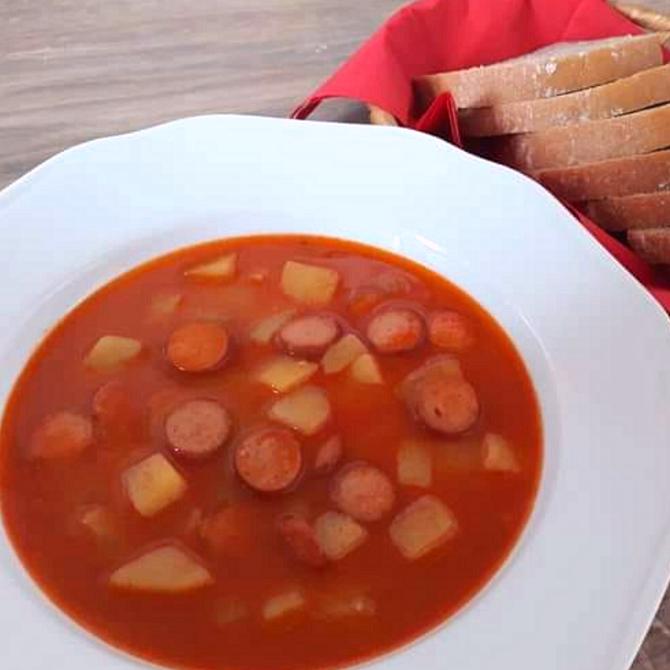 Náhľad receptu Frankfurtská polievka